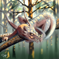 Dragon: Norwegian Egg Thief by Drejer89