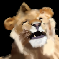 Lion Render by evilgnome555
