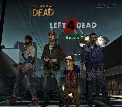 No Mercy (TWD and L4D crossover) by evil-bearrr
