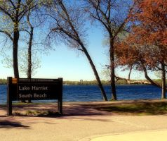 Lake Harriet South Beach. by CupCandyCake