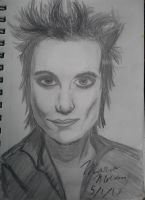 Synyster Gates drawing by foREVerA7Xfan