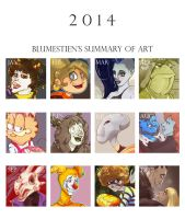 2014 Summary by Blumestien