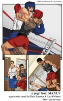 2 boxers take their clinch to a different arena... by DaleLaz