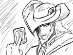 Twisted Fate sketch by girloveslink