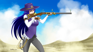 Sheriff Caitlyn by AvrilValleau