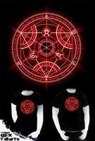 Human transmutation circle red by R-evolution-GFX