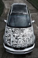 BMW sharpie artcar by spdu4ia
