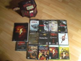 My Resident Evil collection by horrorfreakjuh