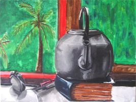 kettle and laddle by ilani