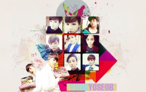 Yoseob Wallpaper by KpopGurl