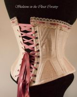 Back 1893 corset by BlackvelvetSITC