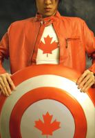 Captain Canada stands on guard for thee by Dark-Templar-Knight
