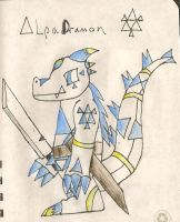 AlphaDramon by Supermeip