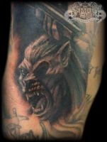Werewolf by state-of-art-tattoo