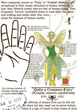 Quite a Common Fairy by Cyrenization