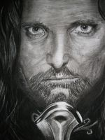 Lord of The Rings: Aragorn by Sasoriakasuna1