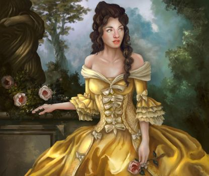 Rococo Belle by NotBySight1109