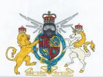 Modern Coat of Arms for HR Gingerness by Sunike