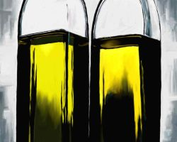 Yellow Oil by polian