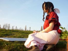 Still there - Aerith by FuriaeTheGoddess