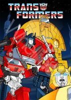 Transformers DVD Cover by Whelljeck