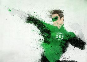 Green Lantern by BOMBATTACK