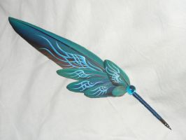 Paragon Soul II - handpainted Featherquill by Ganjamira