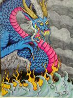 Chinese Dragon_Finished by Furious-Winds