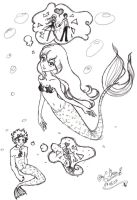 Mermaid's Fantasies by GorgeousPixie