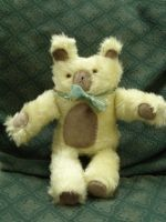 Square Bear by HypotheticalTextiles