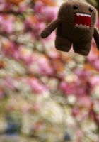 domo-kun + blossoms 2 by RevaMissP1ss