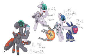 Go! Go! R-type pony by fameng