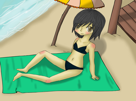 Beach Time by SillyLilAlice