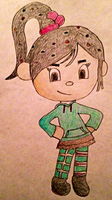 Vanellope...in my style by MysteryBeliever-KJB