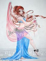 Belly Dancer by eliantART