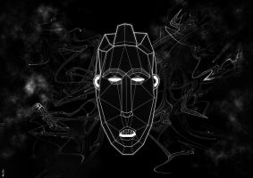 African Mask 666 by MotorH