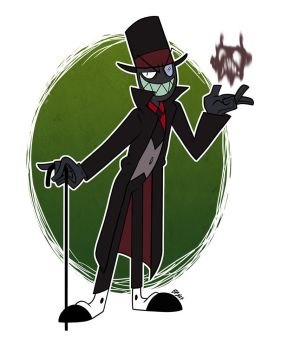 Villainous: Black Hat by bayepaye