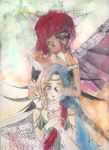 Asura and Inanna by Sweetcookie09
