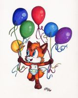 Kenny With Balloons - KellyNG by KennyKitsune
