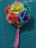 Dodecahedron Kusudama by bslirabsl