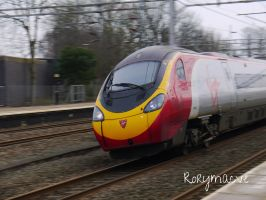 Virgin Trains 390145 at Lichfield Trent Valley by The-Transport-Guild