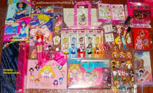 Sailor Moon Haul from Japan by onsenmochi