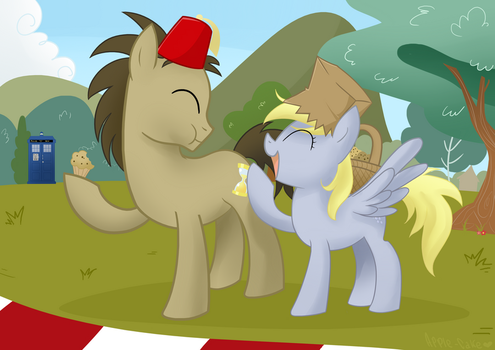 Silly Hats and Muffins by Apple-Cake