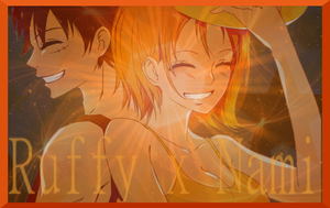 Luffy x Nami  wallpaper for Vinny by Jappy12