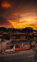 Standart sundown in Dumaguete by Tohmy