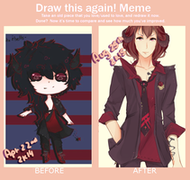 because improvement meme by mauuchi
