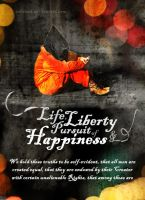 Life Liberty and Pursuit of Happiness by inkrush