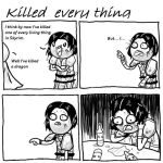 Killed every thing...not - Skyrim by SailorLi