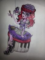 Monster High Scary Tales: Little Misfit Muffet by sailorchix