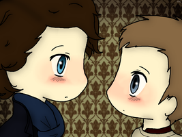 Johnlock by Leilani-kitty